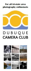 Dubuque Camera Club brochure