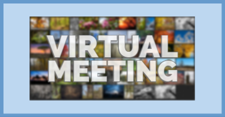 All club meetings will be virtual until further notice.
