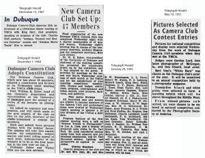Articles about DCC from newspaper archives edited